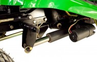 ג'ון דיר X310: כיסוח עם הגה כוח