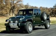 ב-Jeep עובדים על טנדר