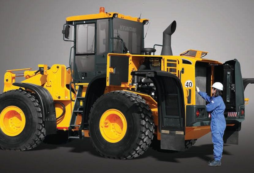 יונדאי HL760-9A