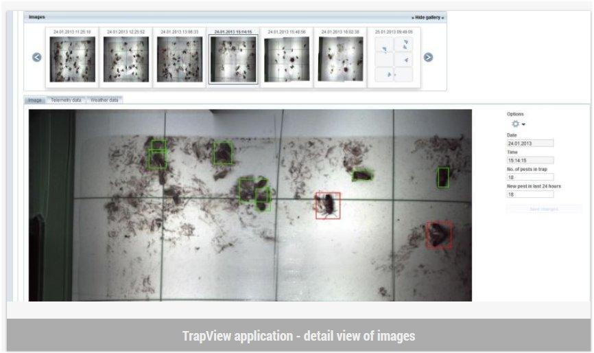 המלכודת משדרת את הנעשה בתוכה באמצעות 6 מצלמות לאתר אינטרנט ייעודי או לסלולארי