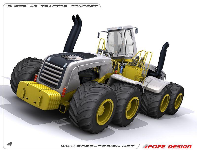 טרקטור-על (Super AG Tractor Concept)