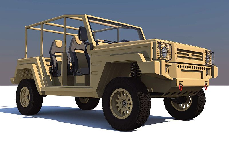 Uniqueco Kitesh Pickup - יוצע גם עם הינע כפול