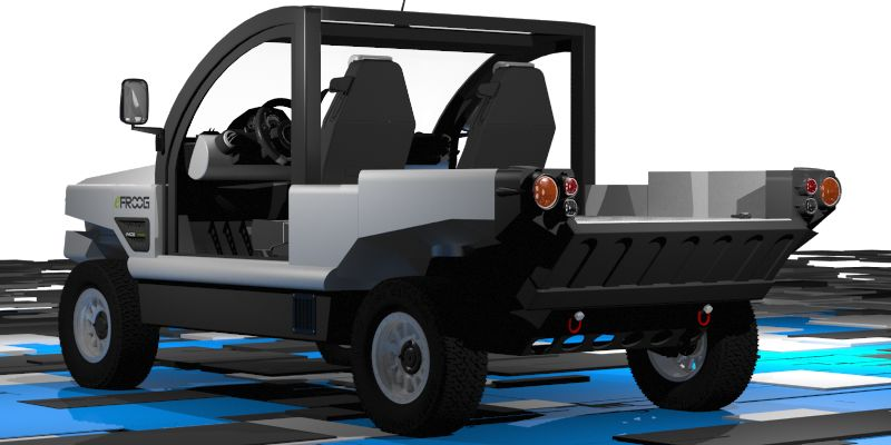 eFROOG OPEN TOP מיועד בעיקר למטרות פנאי אך גם כאלטרנטיבה לרכב עירוני חשמלי
