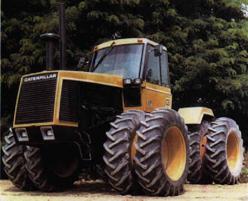 קטרפילר 4wd Tractor אב-טיפוס, 1973