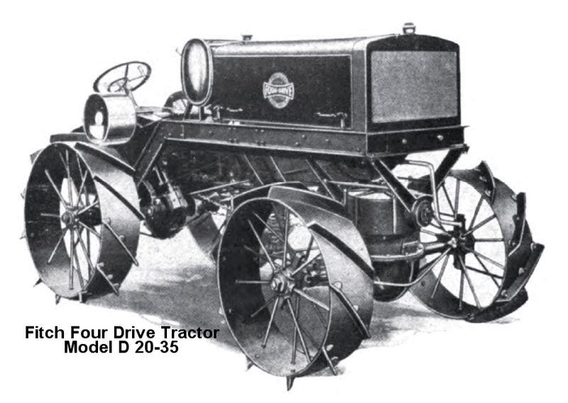 פיץ' פור-דרייב, 1918