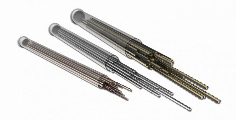 בתופי DuroCut החדשים של שטיל אין צורך לפרק או לפתוח את התוף ('קסטה'): החלפת חוטי החיתוך נעשית באמצעות דחיפת חוטים מוכנים מראש מבחוץ, אל תוך התוף