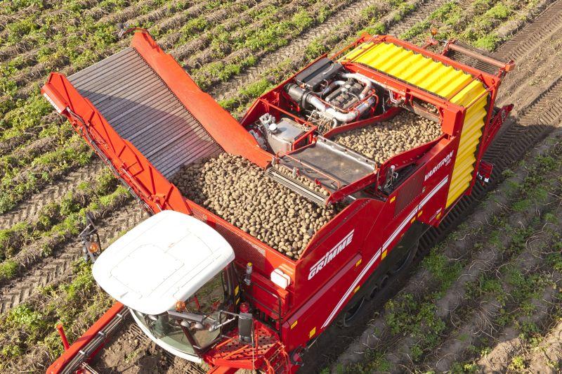 קומביין לאיסוף תפוחי אדמה 'גרימה' Varitron 470