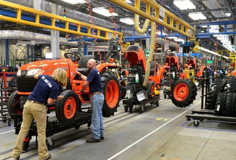 """ההשקעה במפעל בצרפת מצטרפת למפעל החדש שקובוטה הקימה באפריל בארה""""ב, המייצר טרקטורים קומפקטיים (בתמונה)"""
