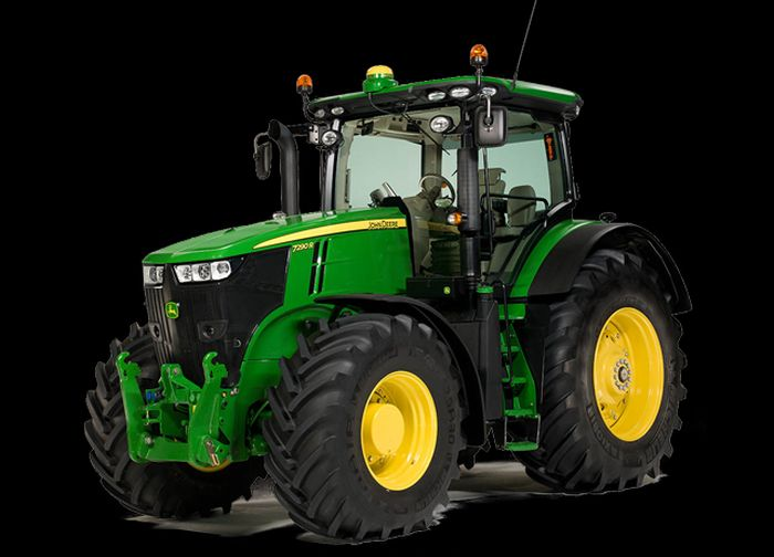 ג'ון דיר סדרה 7R החדשה ל-2014; מבחוץ כמעט ואין שינויים