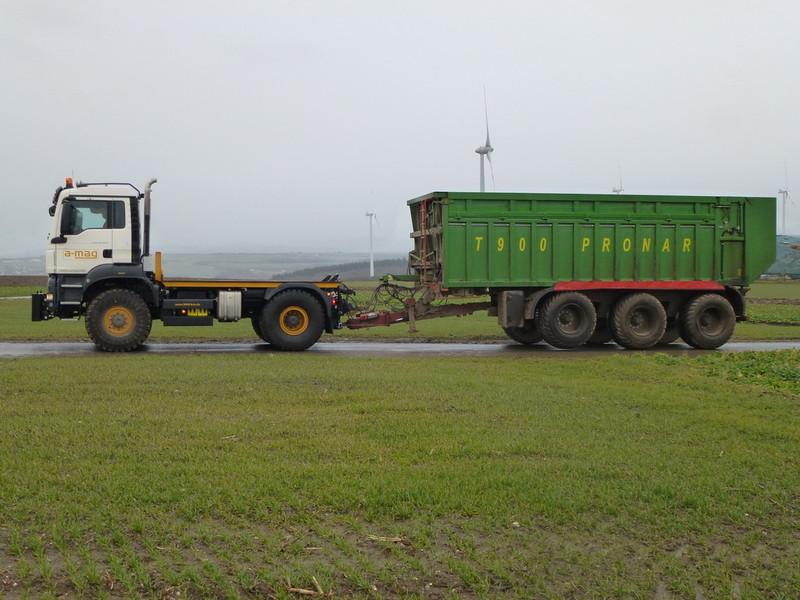 משאית מוסבת MFT MX על ידי Amag AG הגרמנייה