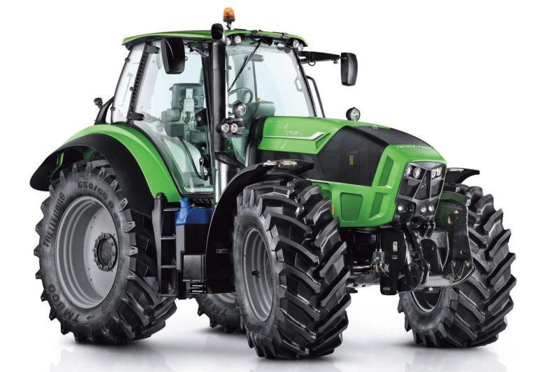 באירופה החלו ההשקעות בפיתוח ושיווק הטרקטורים הגדולים והחזקים יותר להשתלם. בתמונה: דויץ-פאהר 7250 TTV Agrotron