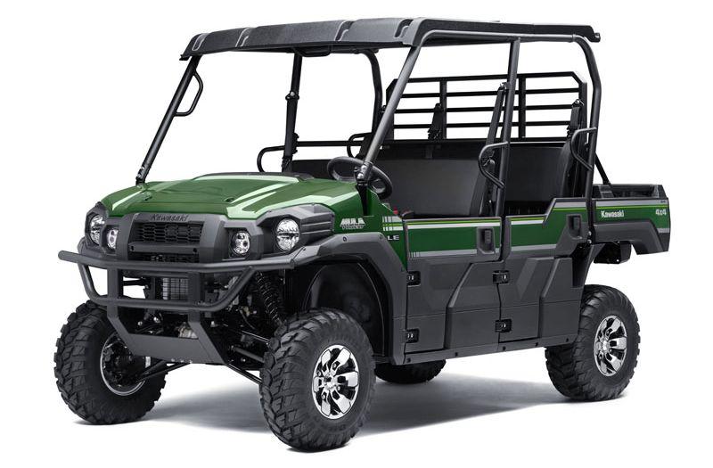 קוואסאקי מיול Pro-FXT. משמעות השם MULE היא אמנם פרד, אך מקור השם הוא קיצור של Multi-Use-Lightweight-Equipment vehicle