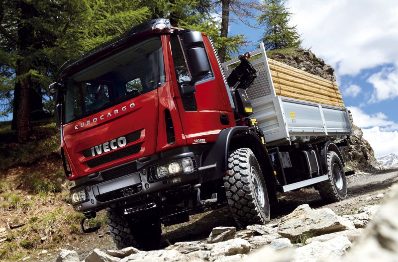 תרמה גופתה למדע ה-Hovertruck Luctor; השלדה מתבססת על זו של משאית איווקו יורוקארגו 4x4 קצרה