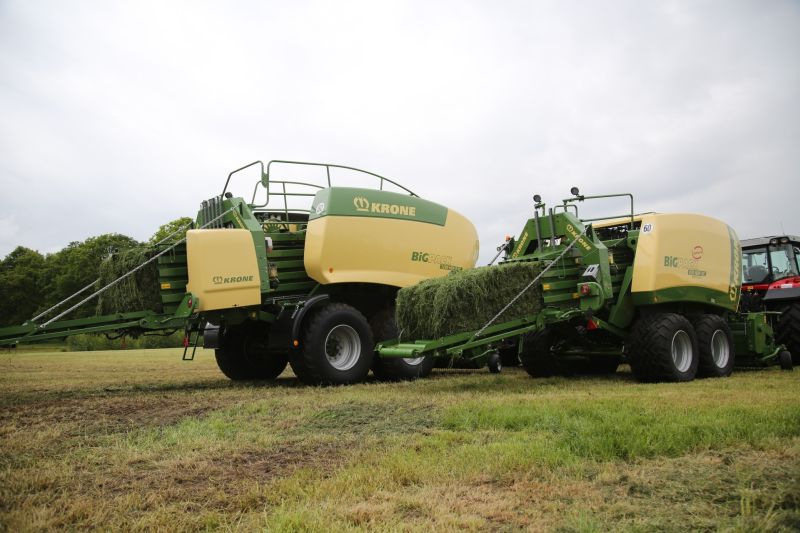 Krone Big Pack 870 HDP HighSpeed