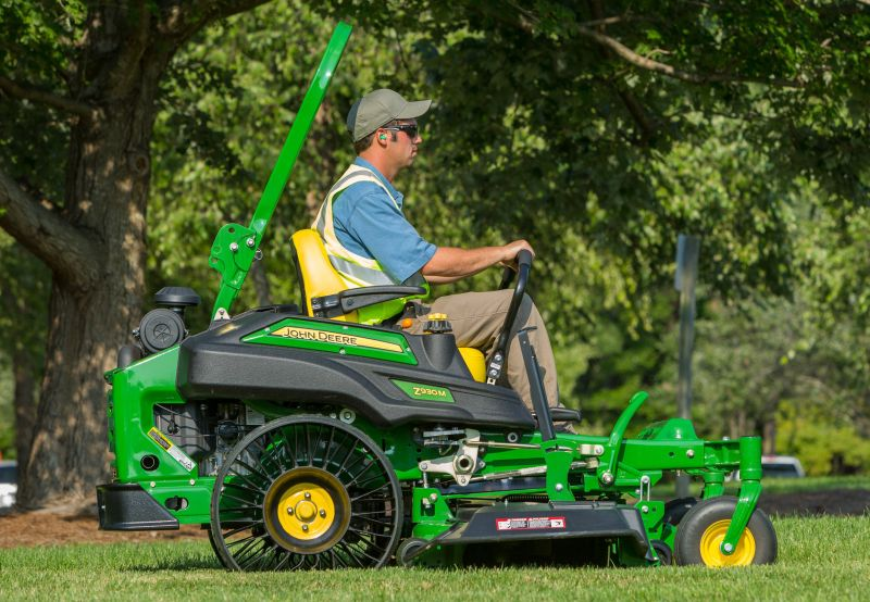 Michelin X Tweel Turf Tire on John Deere ZTrak