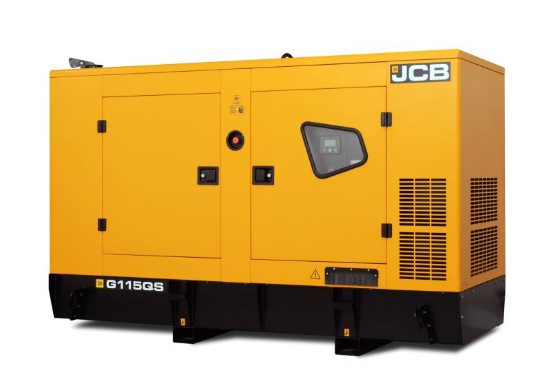דגם ה-G115QS החדש מציע 106kVA ב-60Hz/220V והוא מונע באמצעות מנוע JCB Dieselmax ארבע-בוכנתי