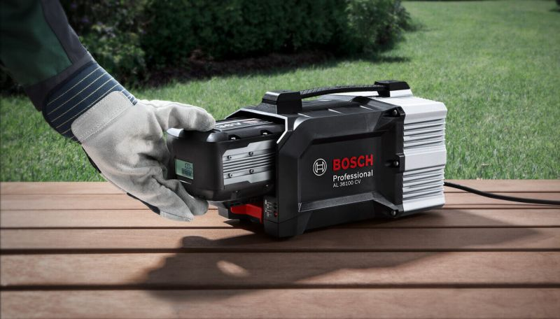 Bosch battery charge