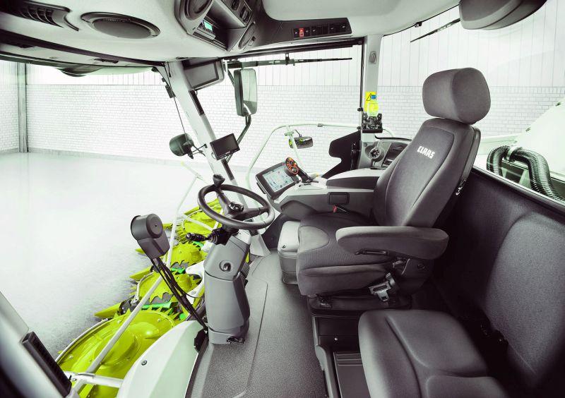 Claas Vista cab
