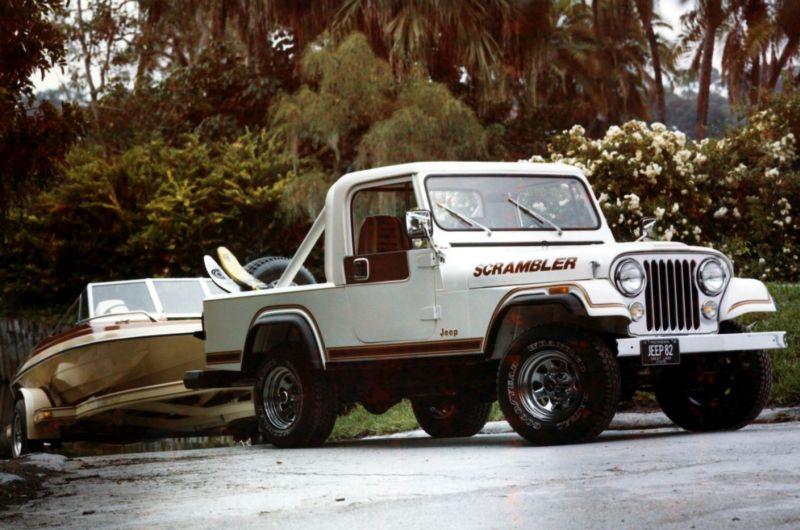 1982 CJ8 Scrambler