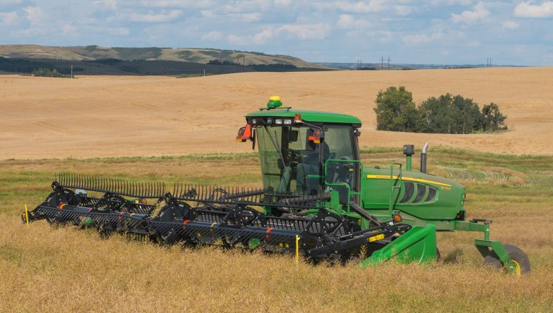 John Deere W155 Self Propelled Windrower