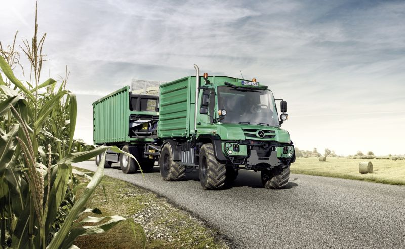 Mercedes-Benz Unimog for agricultural use