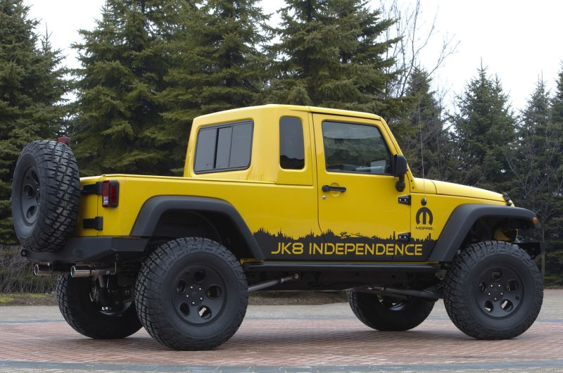 Jeep Unlimited pickup