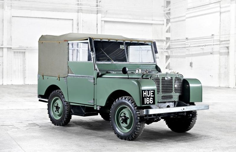 1948 Series I Pre-Production Vehicle No 1
