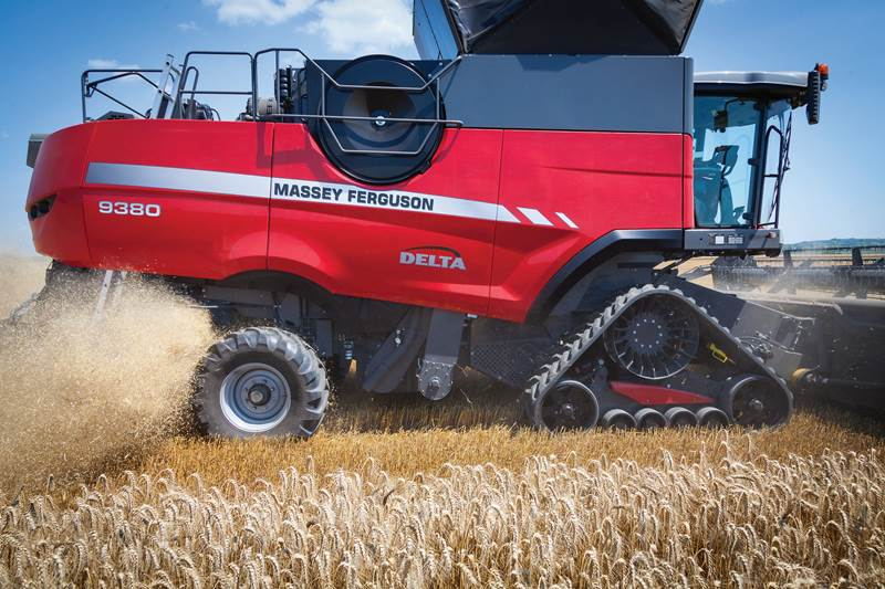 Massey Ferguson MF Delta 9380 tracked version