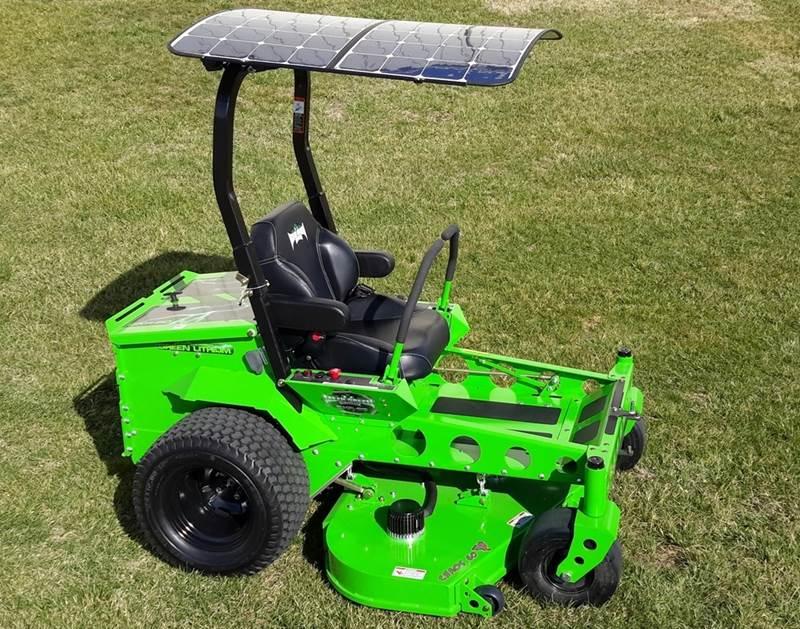מכסחת דשא סולארית Mean Green
