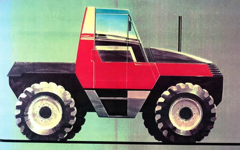 JCB Fastrac 1986