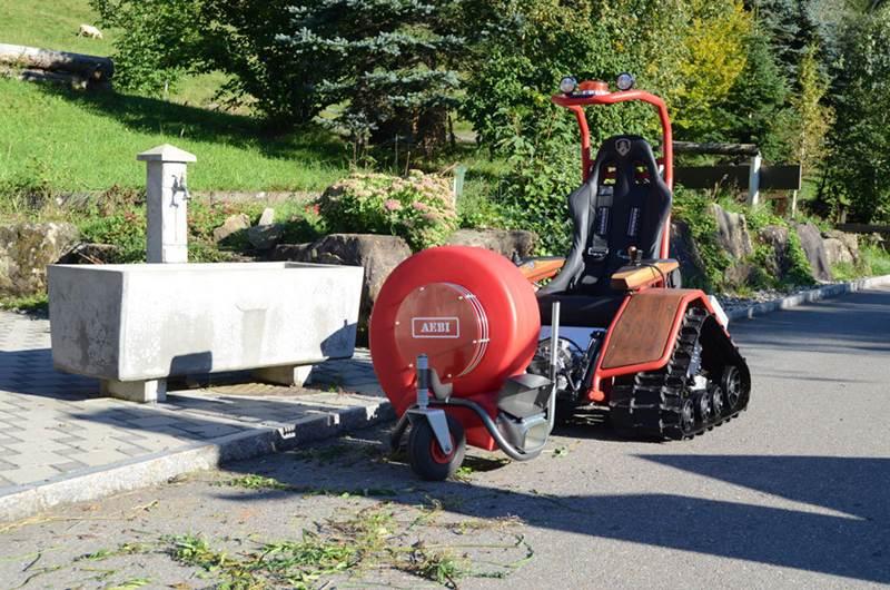 רכב חשמלי מיוחד Aebi EC170