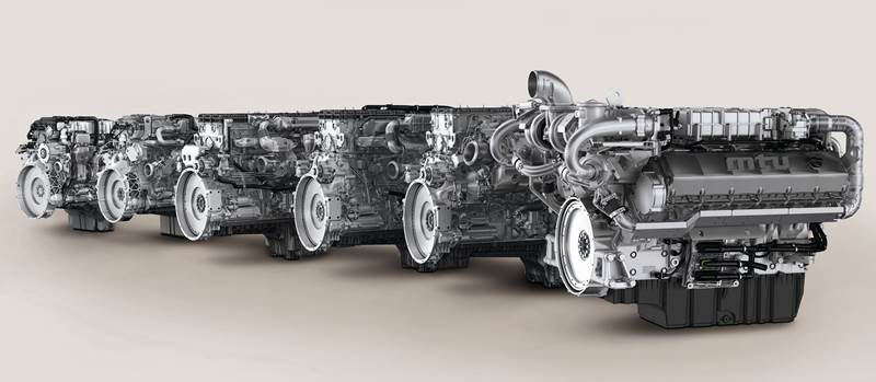 מנועי MTU העדכניים, כמוהם יותקנו בציוד של קלאאס