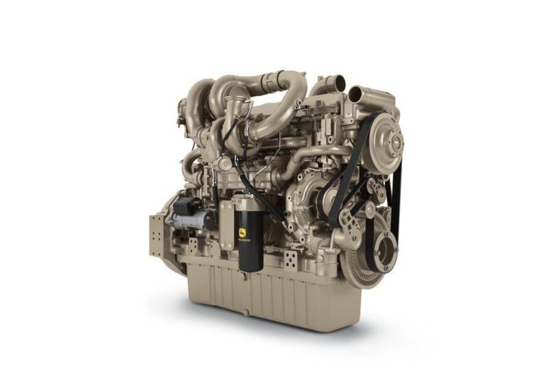 מנוע 13.6 ליטר עתידי של ג'ון דיר