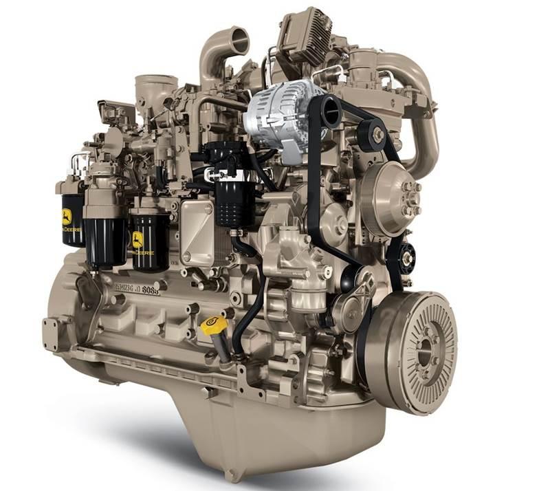 מנוע דיזל ג'ון דיר PowerTech 6.8L FT4