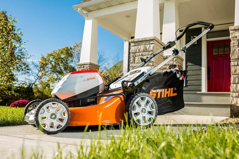 מכסחת דשא חשמלית נטענת Stihl RMA 510