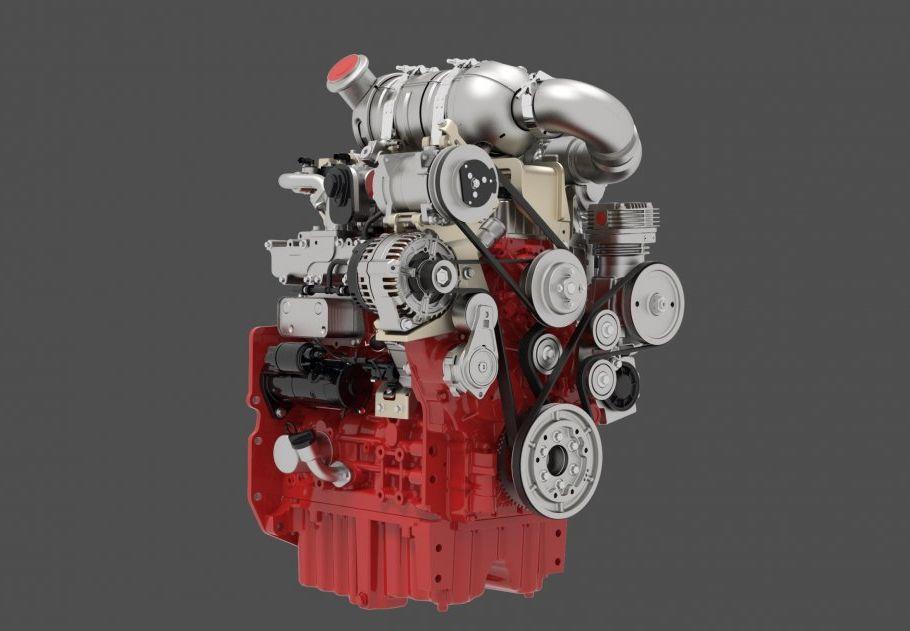 מנוע דויץ TCD 3.6 4L מוסב לשימוש גז טבעי