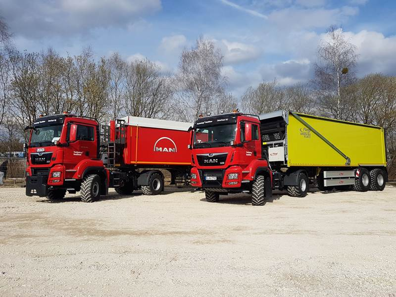 משאית מ.א.ן TGS 18500 4x4 BL