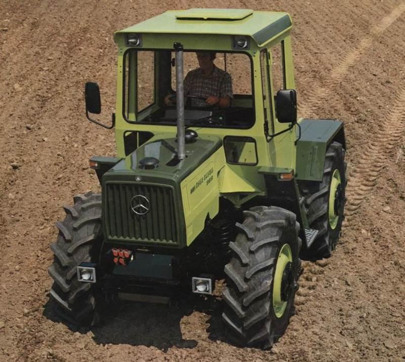 טרקטור מרצדס-בנץ MB Trac מסדרה 900