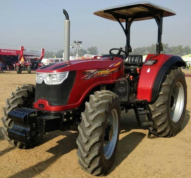 טרקטור Kartar 7536 לשוק ההודי המקומי. על בסיס סדרה חדשה זו תוצג סדרה 'אירופאית' מתקדמת וחזקה יותר במהלך השנה הקרובה
